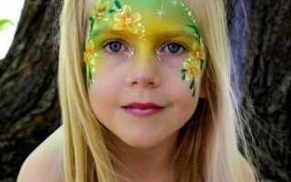 Рисунки животных на лице для детей. Аквагрим для детей — девочек, мальчиков