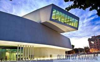 Здание архитектора захи хадид. Музей современных искусств MAXXI в Риме, Италия