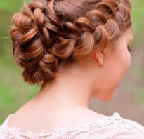 Свадебные прически на длинные волосы косы. Свадебные прически с косами
