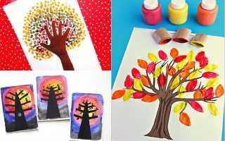 Рисунки на тему осень 5 лет. Осенние поделки для детей: как нарисовать осень