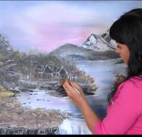 Как научиться рисовать маслом цветы. Основы рисования масляными красками
