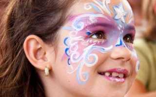 Как нарисовать на лице новый год. Идеи макияжа на Новый год парню и ребенку