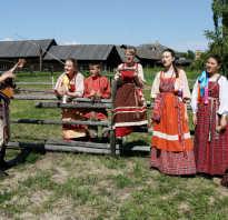 Какими чертами характеризуется традиционная культура. Народная культура