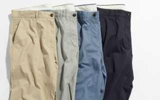 Европейские размеры брюк для мужчин. Как определить размер джинсов