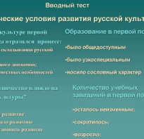 Русская архитектура в первой половине XIX века. Школьная энциклопедия