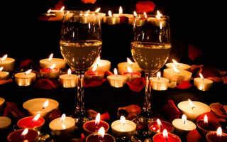 Что приготовить на романтический ужин для девушки на  14 февраля?