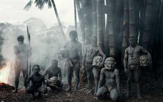 Как живут дикие люди. Дикие и полудикие племена в современном мире (49 фото)