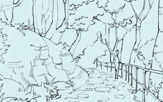 Как нарисовать природу карандашом поэтапно. Как рисовать воду в природе