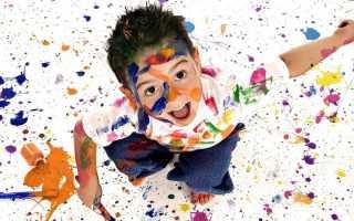 Детские работы рисование красками. Необычные способы рисования с детьми