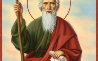 Андрей первозванный икона о чем. Святой апостол Андрей Первозванный (†ок.62)