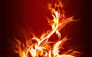 Как создать огненный цветок в фотошопе. Как создается эффектный огненный цветок