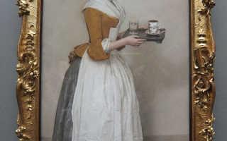 Картина Шоколадница – пастельные тона в Дрезденской галерее. «Шоколадница» Лиотара
