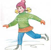 Картина зимнее развлечение. Конспект занятия для детей старшей группы