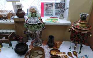 Экскурсия в мини-музей «Русская изба. Мини — музей «Национальная изба»