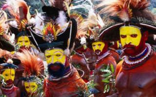 Примитивные племена. Дикие племена: Жестокие обряды мужской инициации (8 фото)
