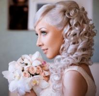Высокие прически для свадьбы. Свадебные прически с накладными волосами