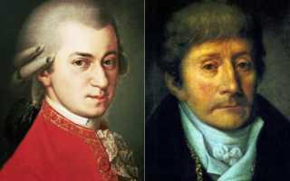 Кем же был Антонио Сальери? История сальери и моцарта — тайна смерти.