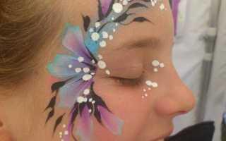 Маленькие рисунки на лице для детей. Как сделать аквагрим? Рисуем на лицах