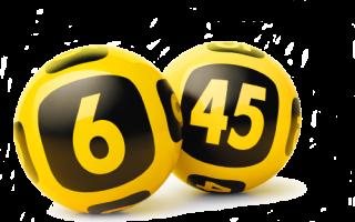 Результаты последнего тиража лотереи гослото 6 из 45. Как заполнять лотерейные билеты