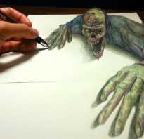 Как нарисовать зомби поэтапно карандашом. Как рисовать зомби карандашом