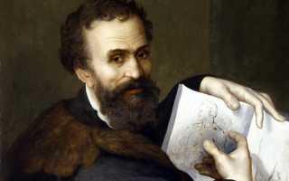 Жизнь микеланджело буонарроти. Биография Микеланджело(1475–1564)