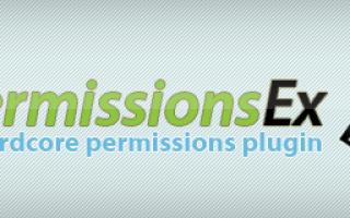Плагин pex для майнкрафт 1.7 10. Туториал по настройке PermissionsEx (PEX)