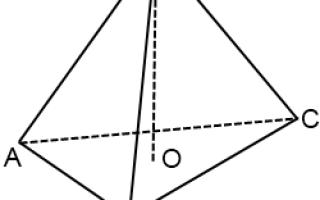 Четырехугольная пирамида по клеточкам. Изображение пространственных фигур