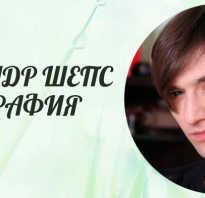 Александр шепс родился. Александр Шепс: биография и личная жизнь