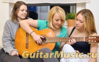 Самоучитель игры акустической гитаре для начинающих. Уроки игры на гитаре