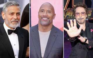 Самые дорогие актеры в мире. Самые высокооплачиваемые актеры голливуда