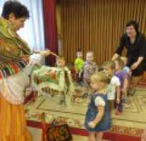 Конспект развлечения в подготовительной группе «В гостях у бабушки.