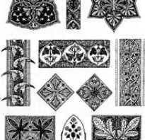 Антропоморфный орнамент в полосе. Какие бывают орнаменты и узоры