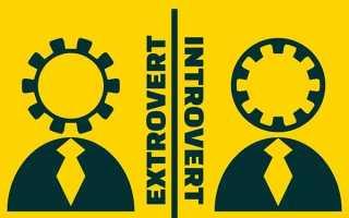 Тест: Вы интроверт или экстраверт? Как узнать — ты интроверт или экстраверт.