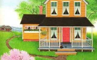 Как нарисовать 2 этажный дом. Как нарисовать дом карандашом поэтапно