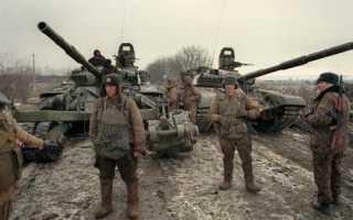 Годы войны в чечне 2 компания. Война в Чечне: история, начало и результаты