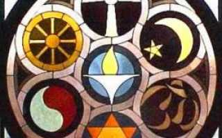 Название религий. Виды первобытной, ранней, языческой, восточной религии