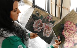 Пример рисование акриловыми красками портрет. Детский портрет акриловыми красками