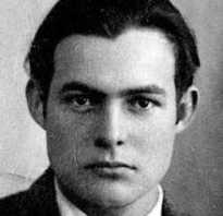 Эрнест миллер хемингуэй биография. Эрнест хемингуэй краткая биография