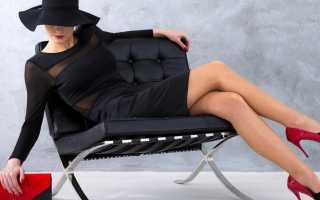 Черное платье-футляр. С чем носить чёрное платье-футляр — фото модных сочетаний