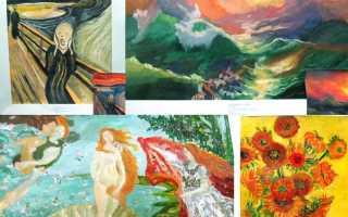Картины нарисованные детьми. Дети на картинах известных художников