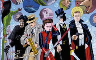 Лига выдающихся джентльменов комикс том 3. Лига выдающихся джентльменов (комикс)