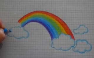 Рисунок радуга дружбы цветными карандашами. Занятие по рисованию «Радуга-дуга