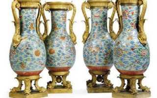 Известные произведения искусства, посвященные детям. Вазы династии Цин
