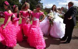 Цыганские свадьбы: обычаи, традиции и обряды. Самые красивые цыганки (16 фото)