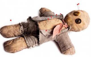 Выкройки для куклы вуду. Что ждет жертву? Обратный эффект от магии вуду