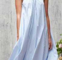 Модели летних платьев из льна. Льняные платья для полных женщин.