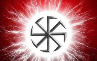 Свастика происхождение символа. Виды свастики славян и их значение