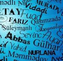 Что означает имя азер. Редкие мужские имена азербайджанского происхождения
