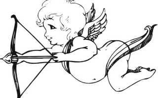 Как нарисовать купидона карандашом. Рисуем ангела любви: как нарисовать купидона