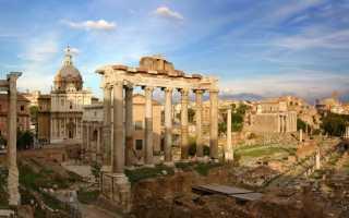 Римская культура кратко. Архитектура и монументальная настенная живопись